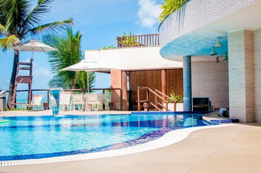 Hotéis de luxo em Natal: Piscina do Rifoles Praia Hotel e Resort