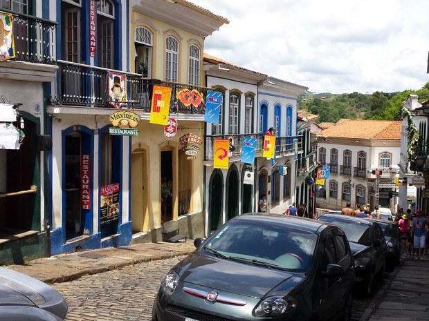 Como ir do aeroporto até o centro turístico de Ouro Preto