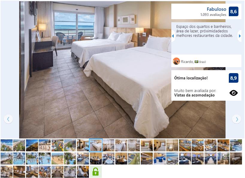 Hotéis de luxo em Natal: Avaliação do Serhs Natal Grand Hotel