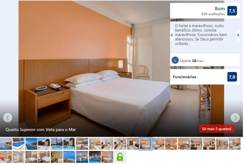 Hotéis no centro turístico de Natal: Avaliação do Yak Beach Hotel Natal