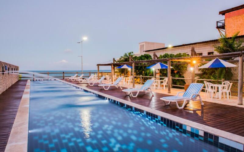 Hotéis no centro turístico de Natal: Piscina do Yak Beach Hotel Natal