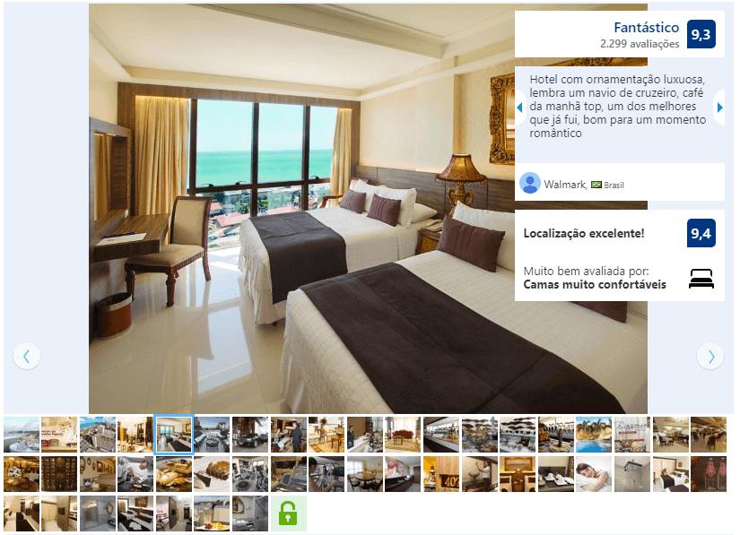 Hotéis de luxo em Natal: Quarto do Best Western Premier Majestic Ponta Negra Beach