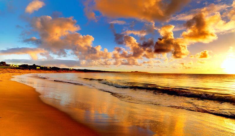 O que fazer a noite em Natal: Pôr do sol na praia