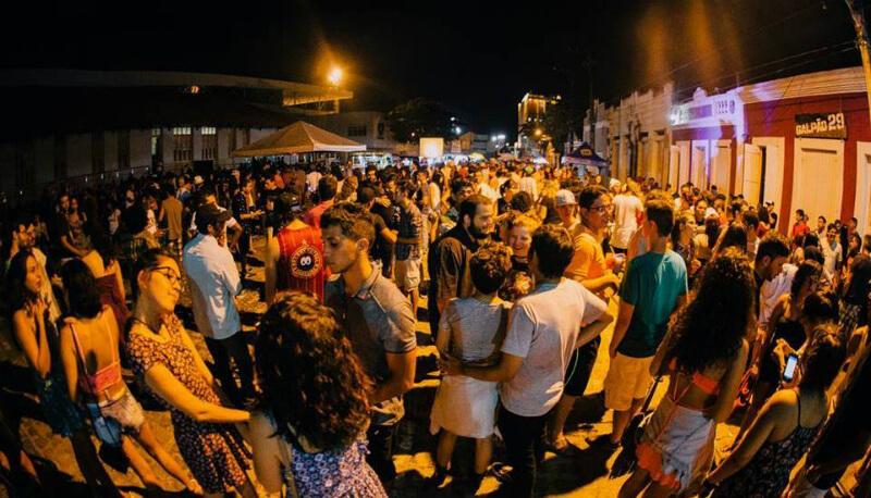 O que fazer a noite em Natal: rua Chile