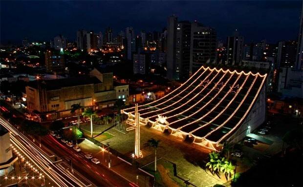 Estrutura da Catedral Metropolitana de Natal