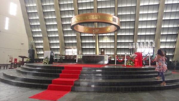 Interior da Catedral Metropolitana de Natal