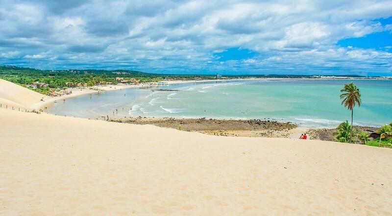 Praia de Genipabu em Natal
