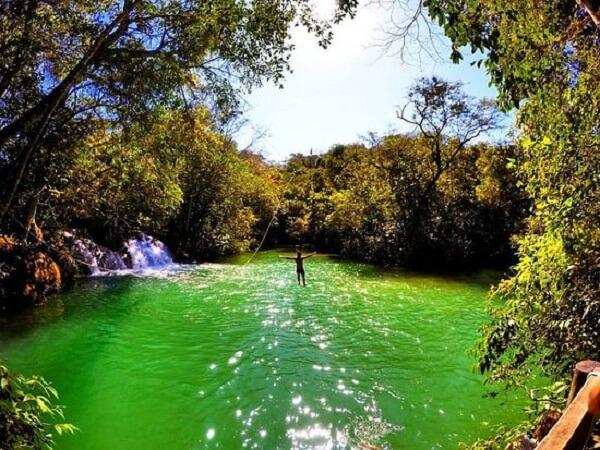 Parque das Cachoeiras para um roteiro em Bonito
