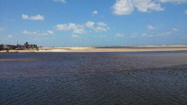 Visita a praia Barra do Rio em Natal